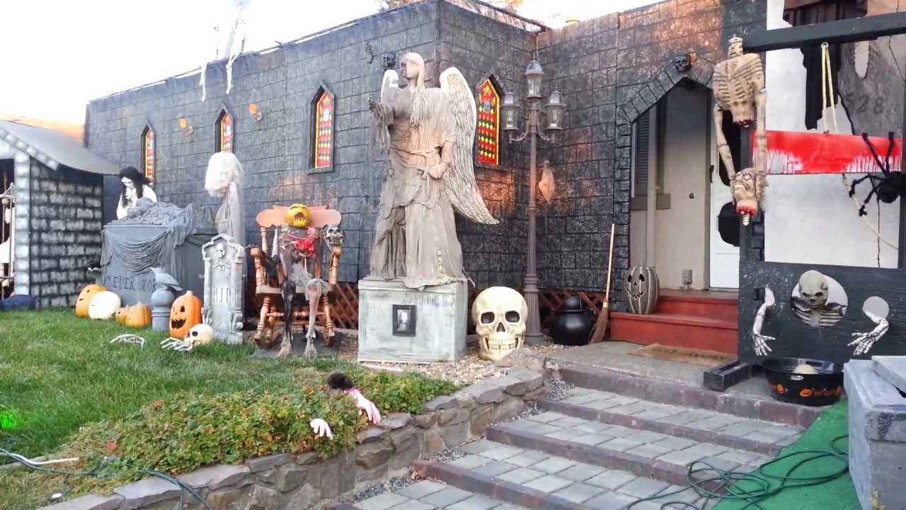Halloween Yard.Halloween Yard Display 2013 First Walkthrough