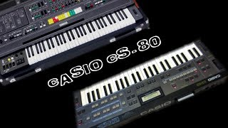 How to bring you the 10.000$ Yamaha CS-80 sound in a 200$ Casio CZ synthesizer