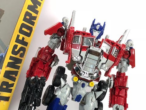 Transformers Legendary Optimus Prime Takara Tomy Bumblebee Movie Chefatron Toy Review
