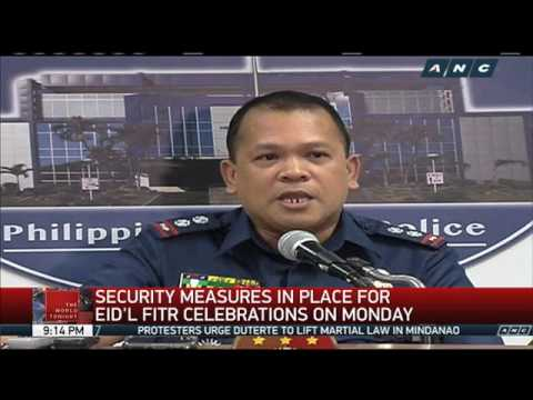 Security measures in place for Eid'l Fitr celebrations