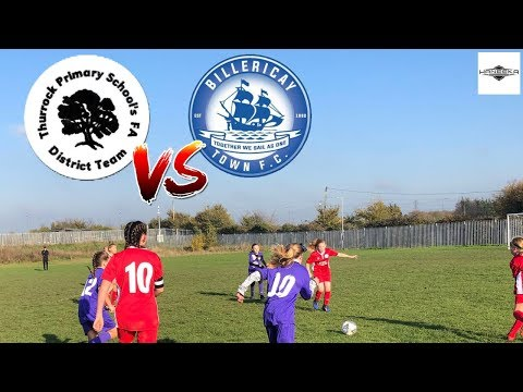 Thurrock District vs Billericay Town Girls U11'S