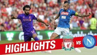 Highlights: Liverpool 5-0 Napoli | Sublime strikes from Salah and Moreno