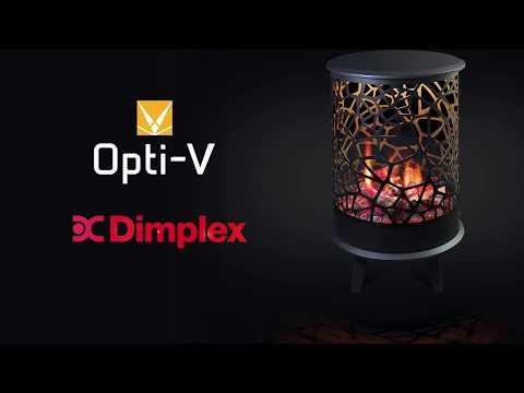 Электрический камин Dimplex Cellini из серии Opti V