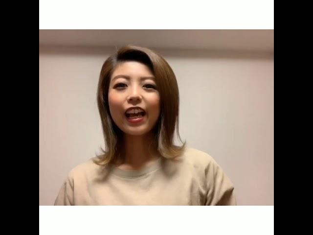 金曜日キッズ向けJazzクラスASUKA先生のコメント動画