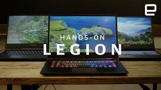Lenovo Legion Hands-On at E3 2018