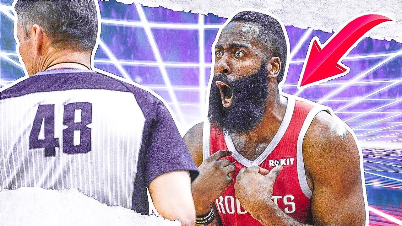 NBA Players Vs Referees: CRAZY Moments - Part 2