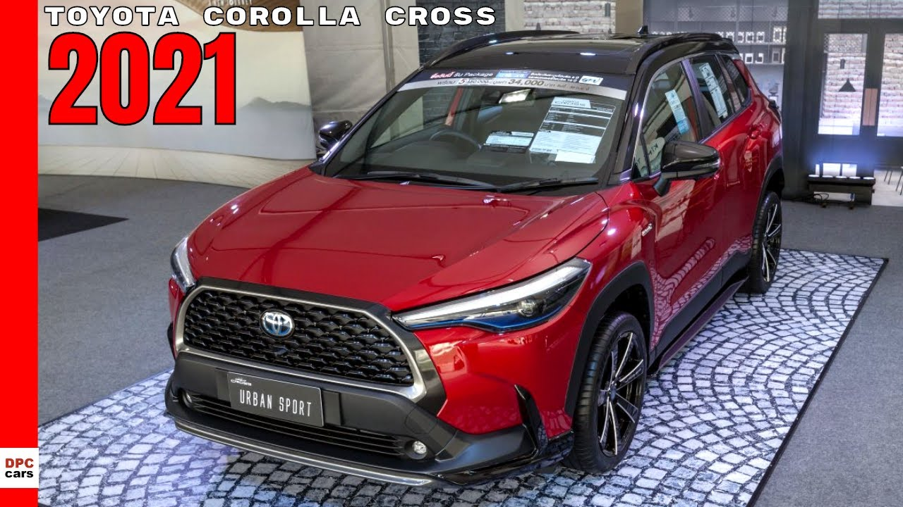 New Toyota Corolla Cross 2021 Youtube
