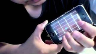 iPhone App: MIDI Fretboard - Sweet Child O' Mine - Guns N' Roses - Intro tutorial