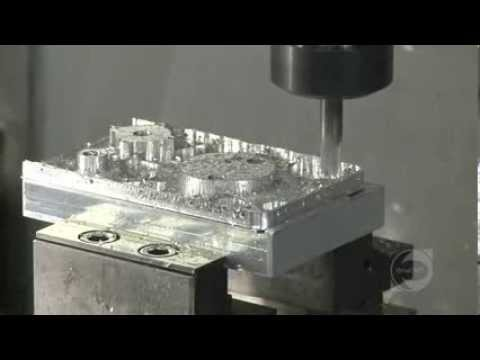 OneCNC Mill 5 Axis Machining on a DMG machine
