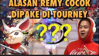 KENAPA REMY 3 JADI PILIHAN BANYAK ORANG DI TURNAMEN?!?