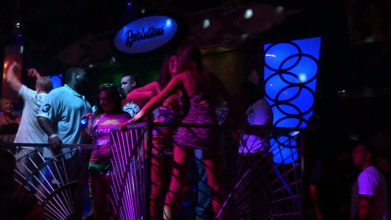 The Cage At Revolutions Night Club Broadway Beach Myrtle BEach SC