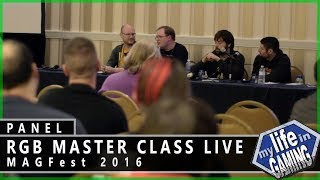 RGB Master Class Live at MAGFest 2016 (w/HDRetrovision) / MY LIFE IN GAMING