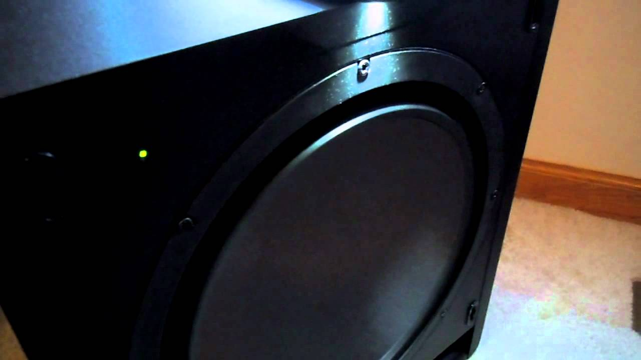 klipsch sw 112 bass test youtube. Black Bedroom Furniture Sets. Home Design Ideas