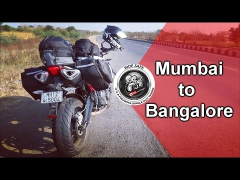 Mumbai to Bangalore | 1000kms on a Benelli TNT 600i | India bike week