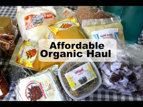 Affordable Organic Grocery Haul - Skinny Recipes
