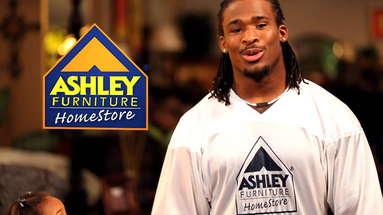 tv ad with deangelo williams ashley furniture homestore youtube