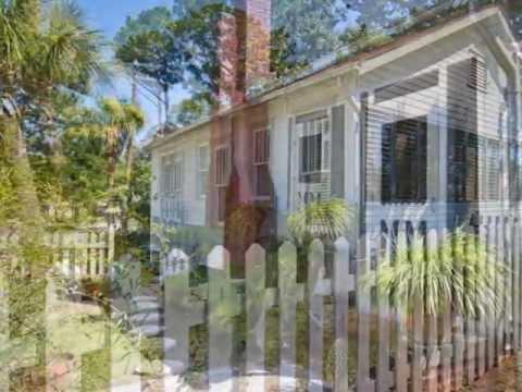 Jensen Cottage circa 1920-Mermaid Cottages Vacation Rentals-Tybee Island GA