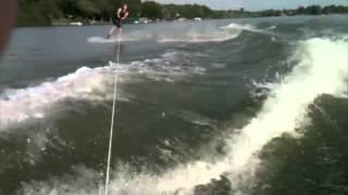 American Skier Wakeboarding