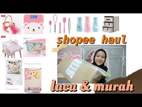 Shopee Haul : Room Decor, Organizer, Alat Masak Lucu Dll
