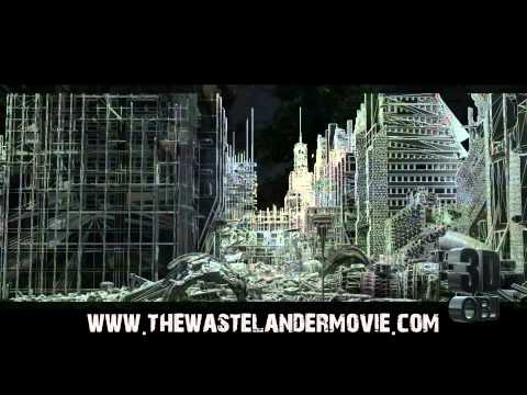 THE WASTELANDER MOVIE 3d cgi model bundle: city