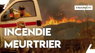 Les incendies en Californie font une septième victime