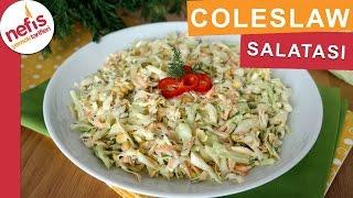 Coleslaw Salata Tarifi - Orijinal Kfc Lezzetinde - Nefis Yemek Tarifleri