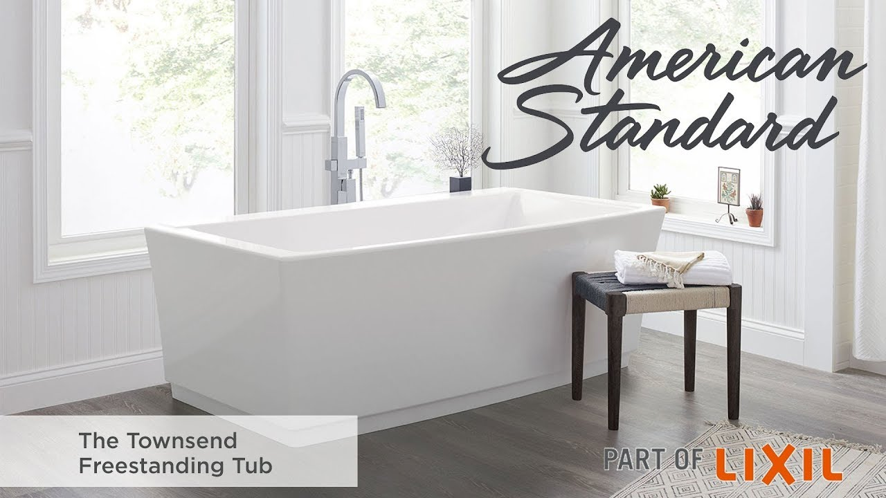 The Townsend Freestanding Tub from American Standard - YouTube