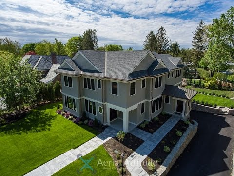 192 Fuller Street Newton MA Drone Real Estate Video