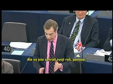 Nigel Farage: Nechci žít v Evropě ovládané Německem