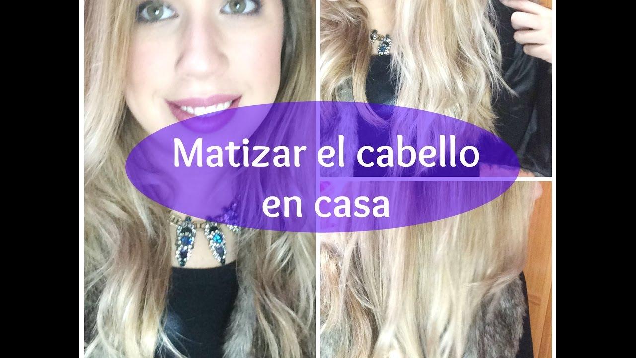 Matizar El Cabello En Casa Champú Color Casero Multimedias Videohair Tu Vídeo Portal De Peluquería Y Estilismo