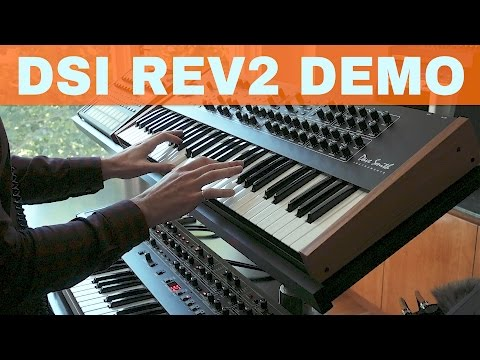 DAVE SMITH INSTRUMENTS REV2 SYNTH DEMO