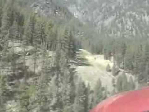 Approach Into Allison Ranch With MAF