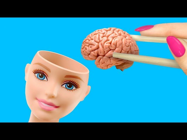 13 DIY Barbie School Supplies And Crafts