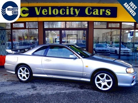 1998 Nissan Skyline R34 25GT-Turbo Manual Coupe 137K's for sale in Vancouver, BC, Canada