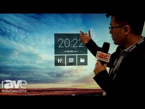 "InfoComm 2016: KTC Commercial Display Showcases 84"" Interactive Flat Panel"