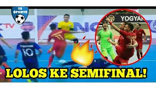 BANJIR GOL! INDONESIA (13) VS (0) KAMBOJA - Full Highlights AFF FUTSAL 2018