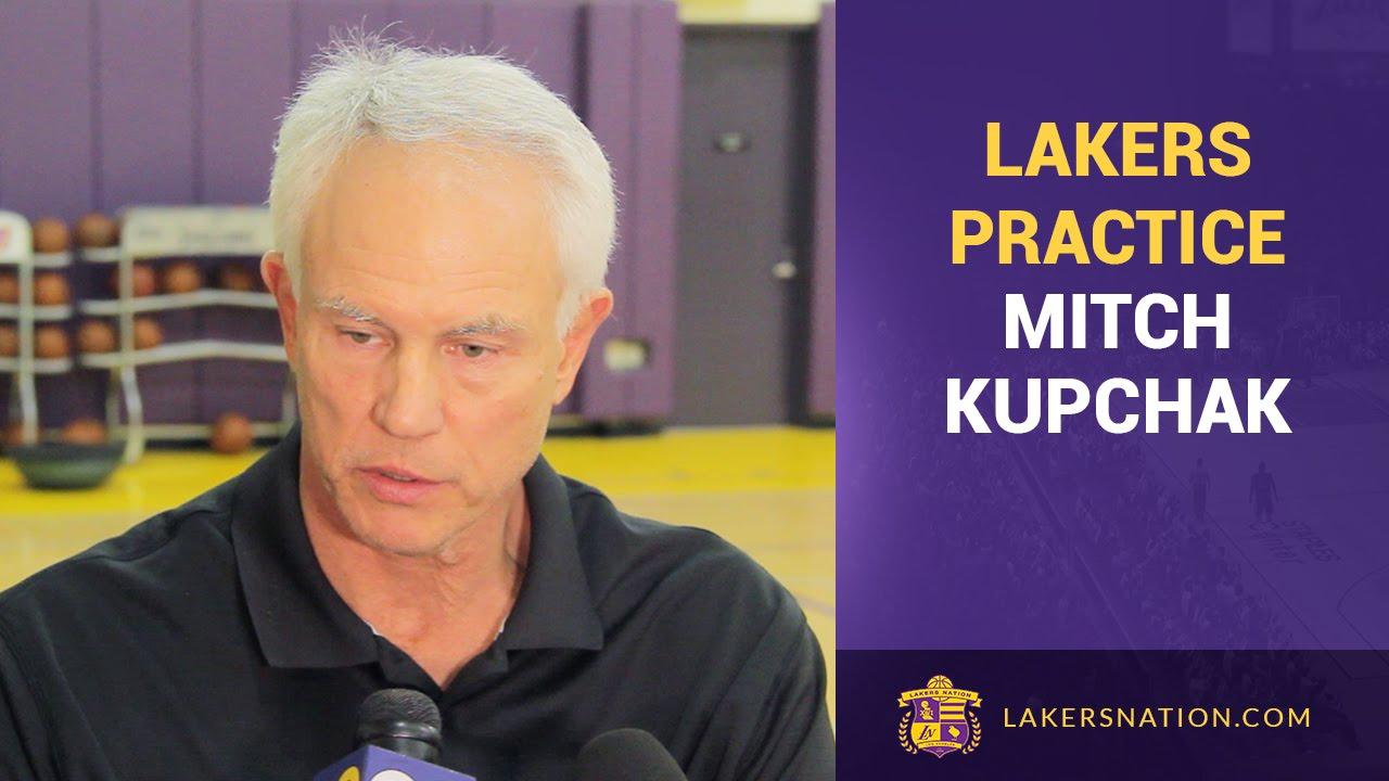 Lakers GM Mitch Kupchak NBA Trade Deadline