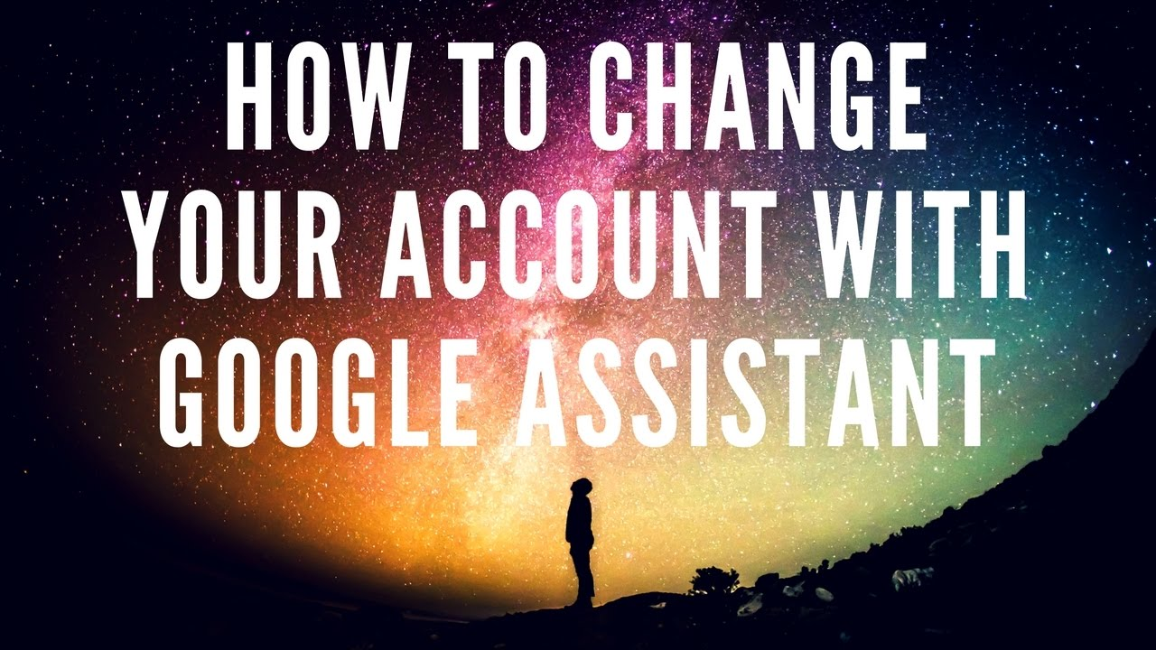 how to change default account for google play