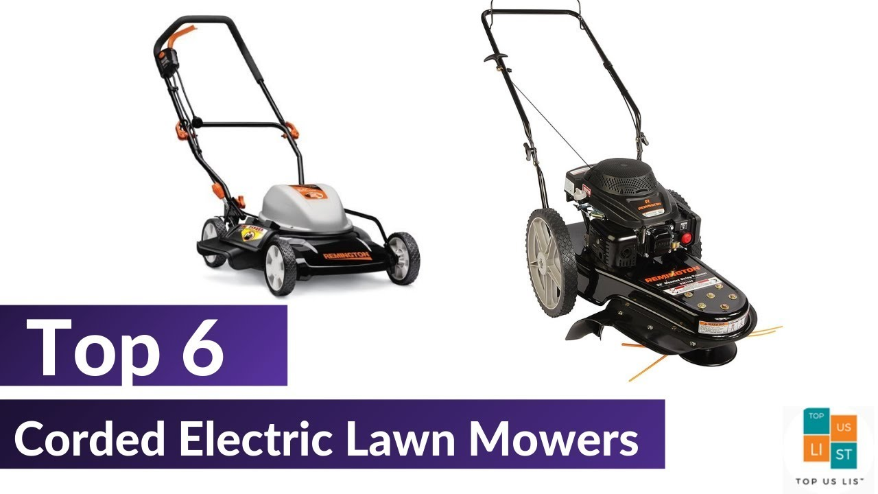 Best Electric Lawn Mower 2020.The 6 Best Corded Electric Lawn Mowers 2020 List Reviews