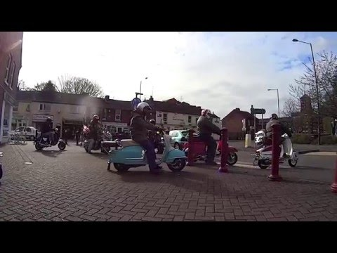 Nowhere to Run To 2016 St Georges Day Kidderminster to Stone Cross