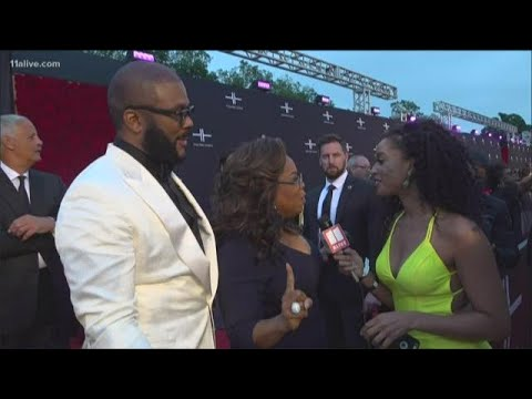 Oprah, Beyonce, Halle Berry And More Came Out To Support The Opening Of Tyler Perry Studios