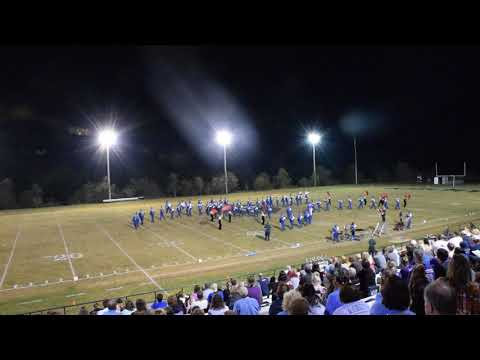 Fairmont Senior High School Marching Band Music in the Mountains Performance 09/21/2019