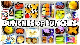 HOT Lunches + NO Sandwiches! ???? Bunches of Lunches