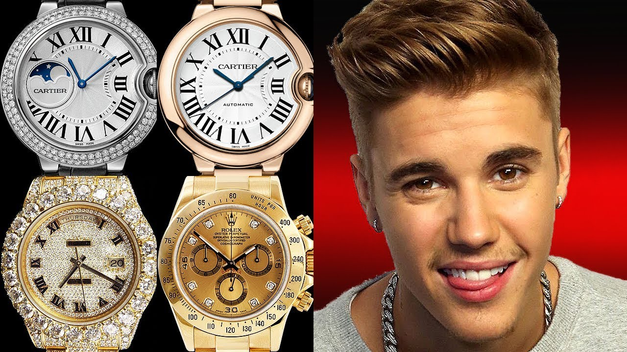 dab3a8985 Justin Bieber Watch Collection - Rated from 1 to 10! - YouTube