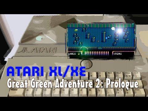 Atari XL/XE -=Great Green Adventure 2: Prologue=-