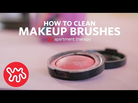 How to Clean Makeup Brushes | Apartment Therapy