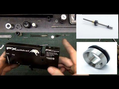 FX Air Rifle Valve Leaking