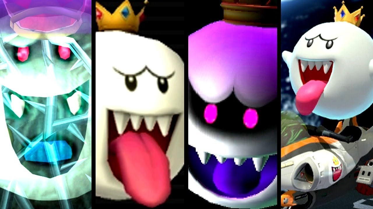 Super Mario Evolution of KING BOO 2001-2018 (Switch to GC)