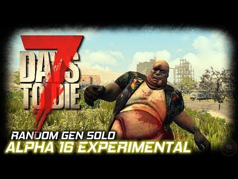 7 Days To Die Alpha 16 | New Town | EP1 | Random Gen | 7DTD Gameplay 7D2D