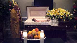 Last Visitation Closing the Casket in My Grandma